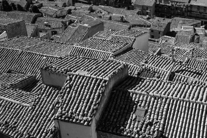 Veduta delle case di Gangi. Per info sullo scatto cliccare sull'immagine. Copyright Rosario Pinto